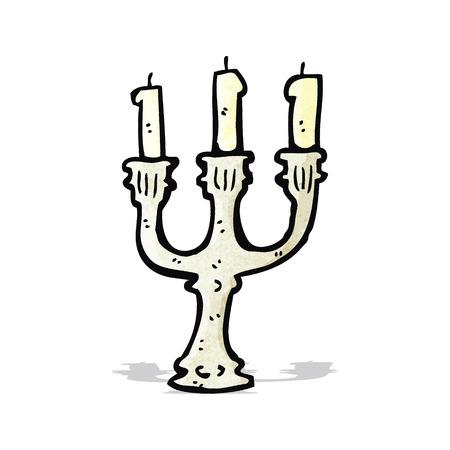 cartoon candlestick Vector