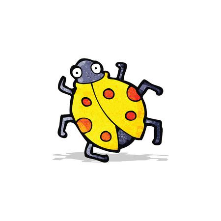 ladybug: cartoon ladybug Illustration