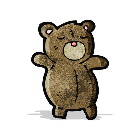 teddy bear cartoon: cute teddy bear cartoon