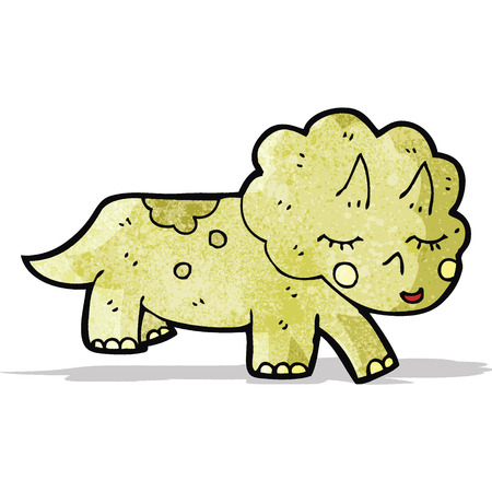 triceratops: cartoon triceratops