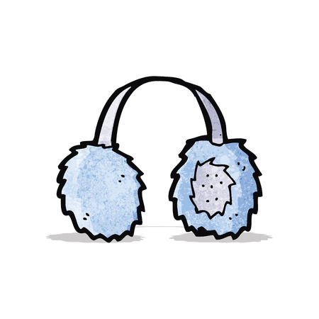 ear muffs: cartoon ear muffs