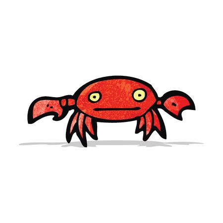 cangrejo caricatura: cangrejo de la historieta