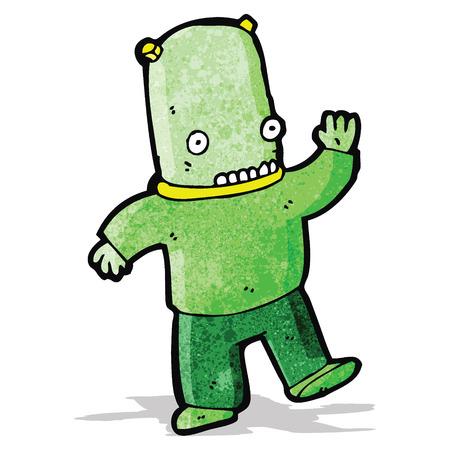 spaceman: cartoon spaceman