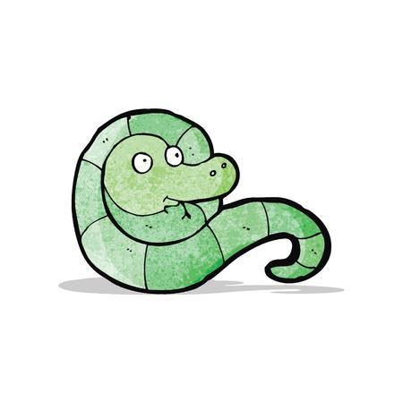 cartoon schlange: cartoon snake Illustration