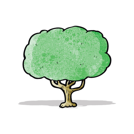 arboles de caricatura: caricatura �rbol Vectores