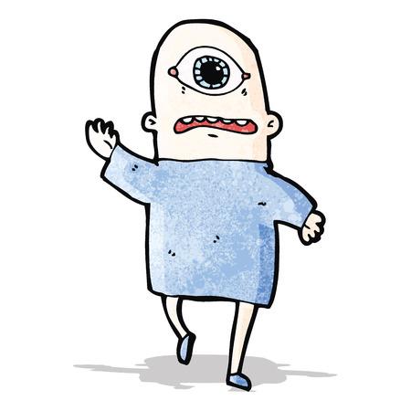 cyclops: cartoon cyclops