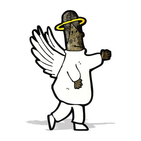 angel: cartoon angel Illustration