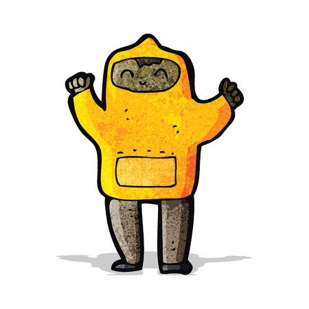 hooded: cartoon boy in hooded sweatshirt