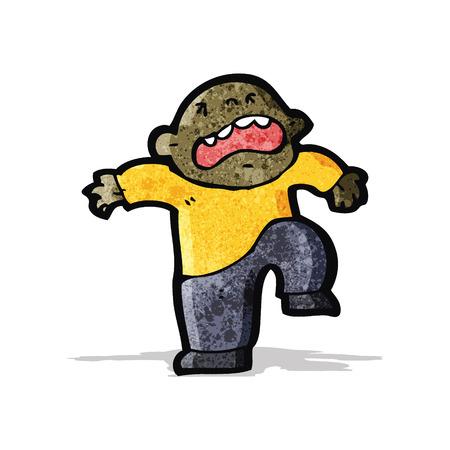 temper: cartoon temper tantrum Illustration