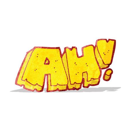 ah: comic book ah! scream