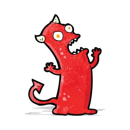 imp: cartoon little imp