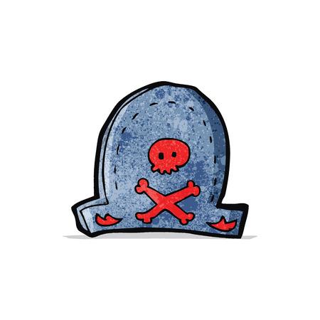 piratenhoed: cartoon piraat hoed