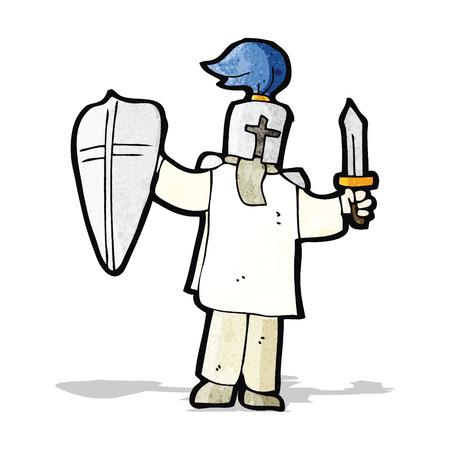medieval knight: cartoon medieval knight