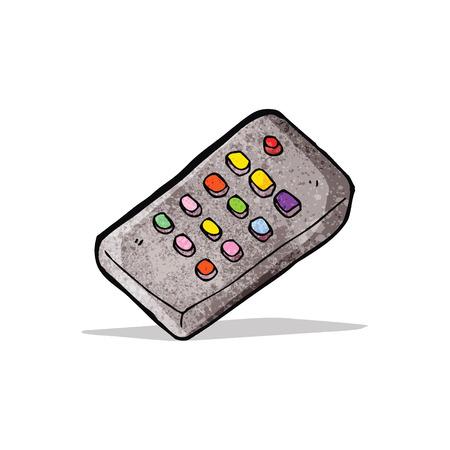 remote control cartoon Illustration