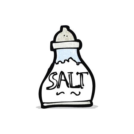 cartoon salt shaker 版權商用圖片 - 32711083