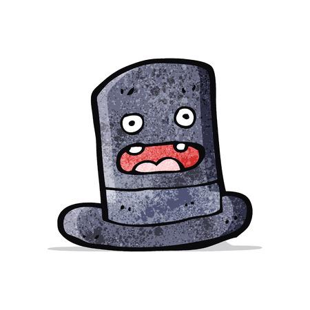 top hat: funny cartoon top hat
