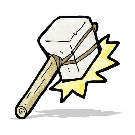 golpeando: dibujos animados mazo de bateo Vectores
