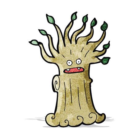 twisty: cartoon spooky tree