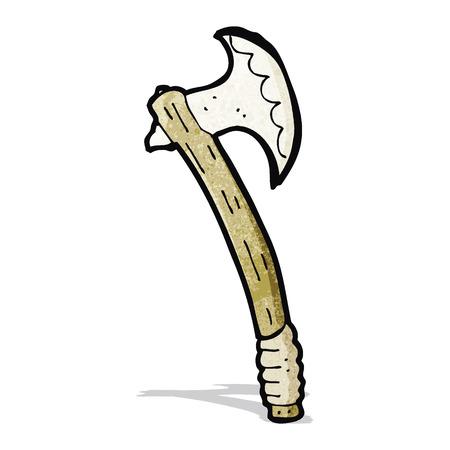 cartoon axe: cartoon axe