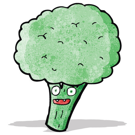 brocolli: cartoon brocolli