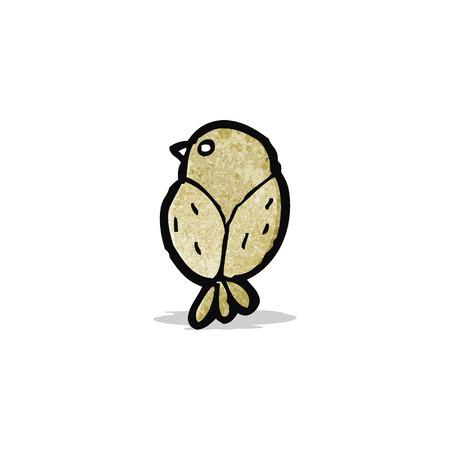 little bird: peque�a caricatura de aves