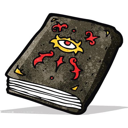 spell: cartoon magic spell book