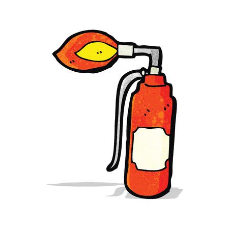 blowtorch: cartoon blowtorch