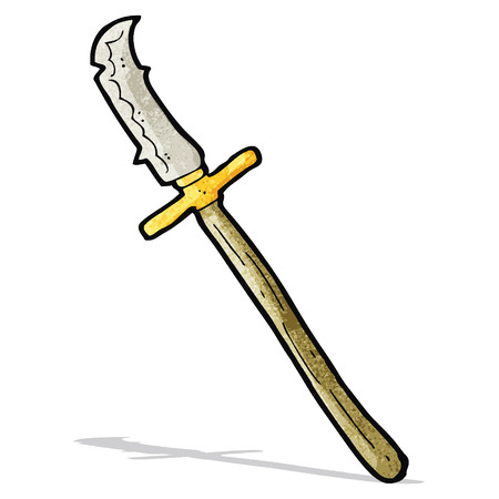 halberd: cartoon medieval spear