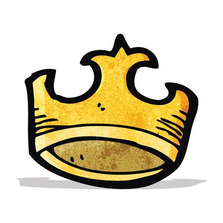 cartoon crown Illustration