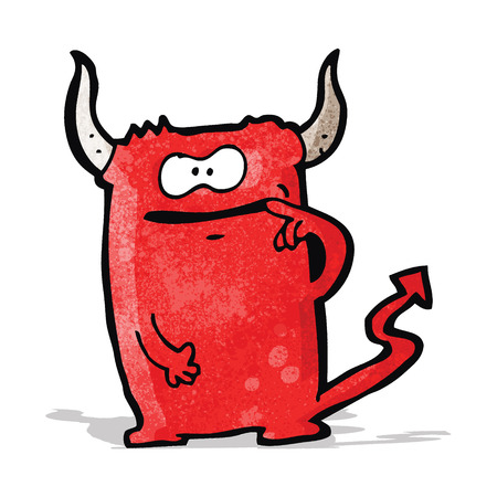 cartoon devil: cartoon devil