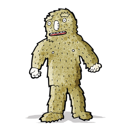 bigfoot: cartoon bigfoot