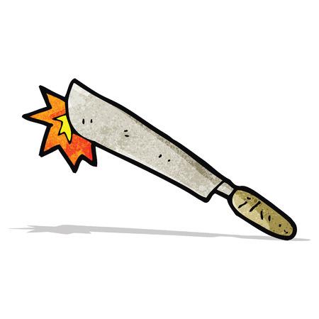 machete: cartoon machete Illustration
