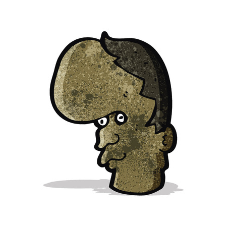 mutant: cartoon mutant head