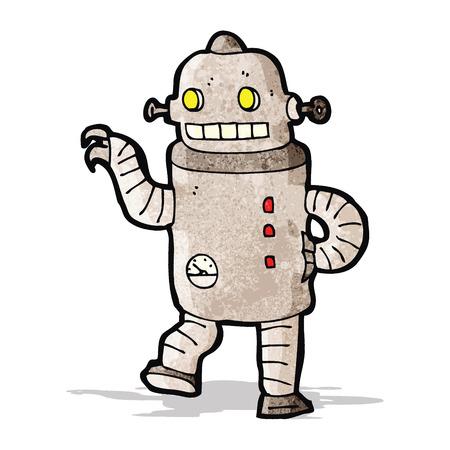 funny robot: cartoon funny robot
