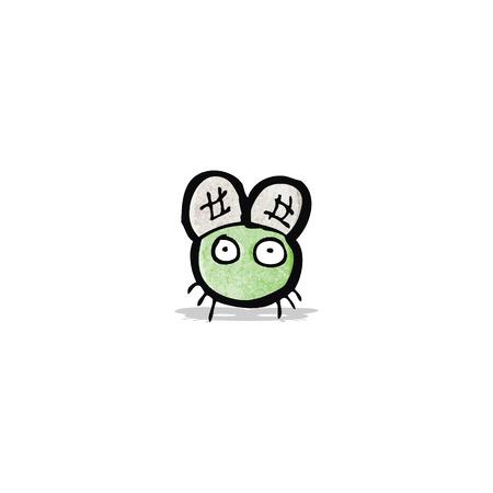 diminuto: de dibujos animados peque�a mosca