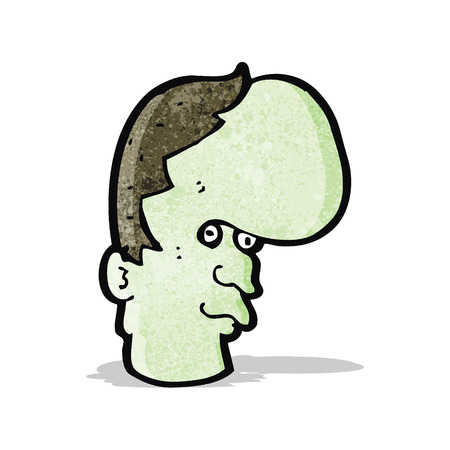 mutant: cartoon mutant man