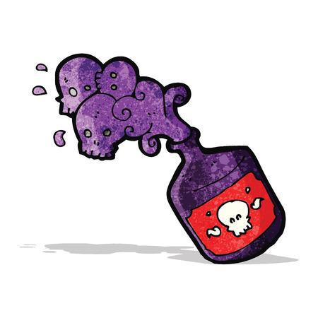poison bottle: bottiglia di veleno fumetto
