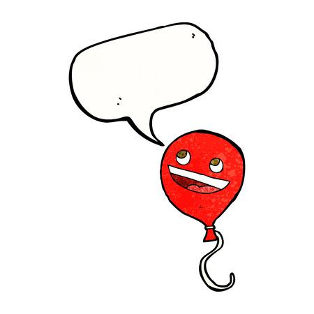 cartoon balloon with speech bubble Vector