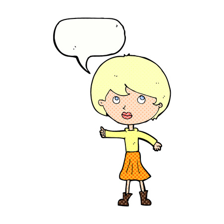 asking: cartoon woman asking question with speech bubble
