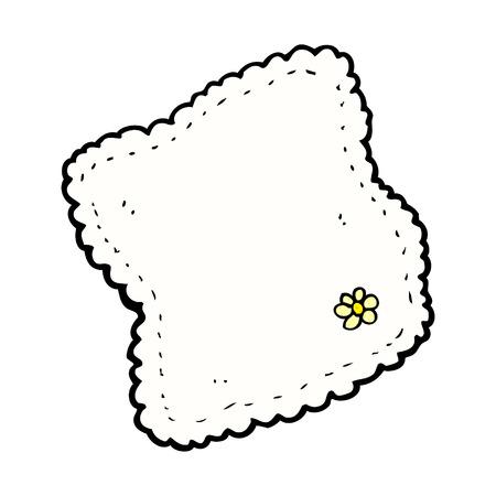 retro comic book style cartoon handkerchief royalty free cliparts rh 123rf com hanky clipart handkerchief clip part 1 of 3