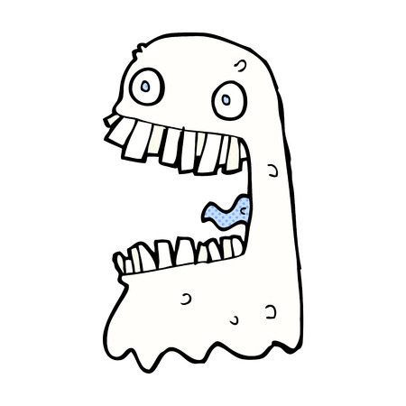 grosse: r�tro bande dessin�e de style de bande dessin�e fant�me brut