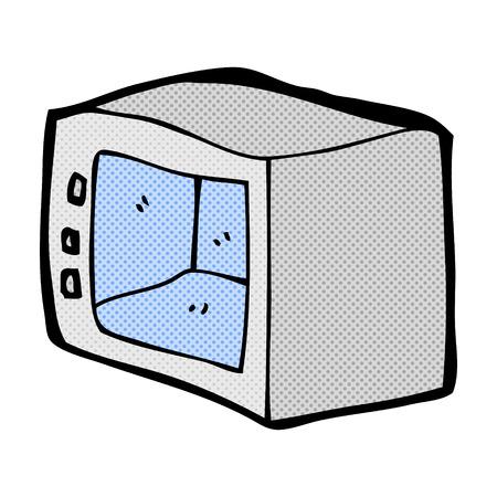 Küchenmesser clipart  Retro-Comic-Stil Cartoon Küchenmesser Lizenzfrei Nutzbare ...