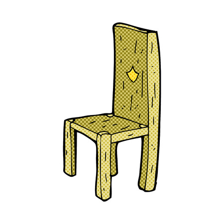 Stuhl comic  Cartoon Wooden Chair Royalty Free Cliparts, Vectors, And Stock ...