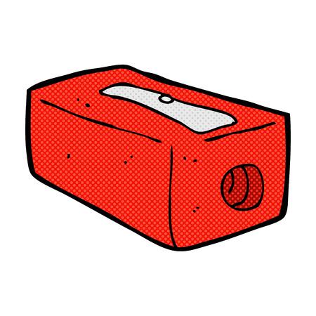 sacapuntas: retro estilo del c�mic sacapuntas de dibujos animados Vectores