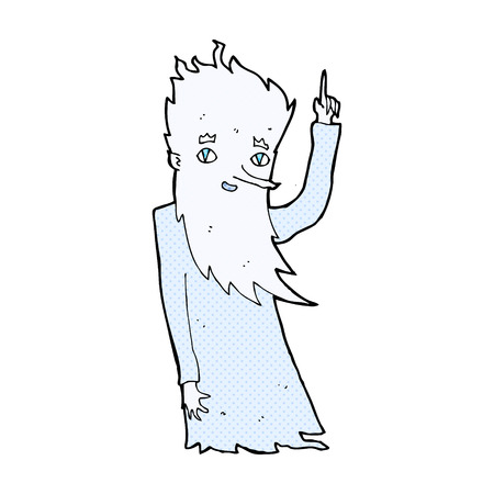 jack frost: Jack Frost historieta del estilo retro del c�mic