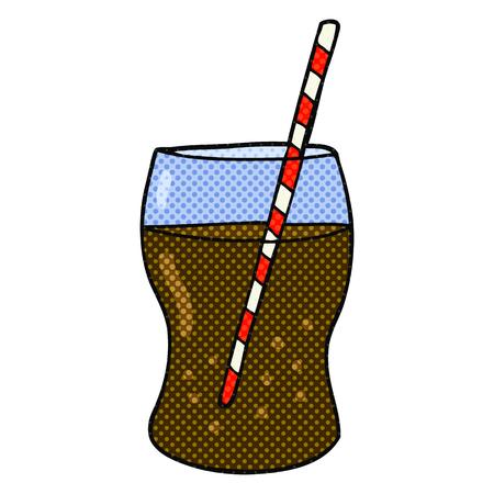 fizzy: freehand drawn cartoon fizzy drink