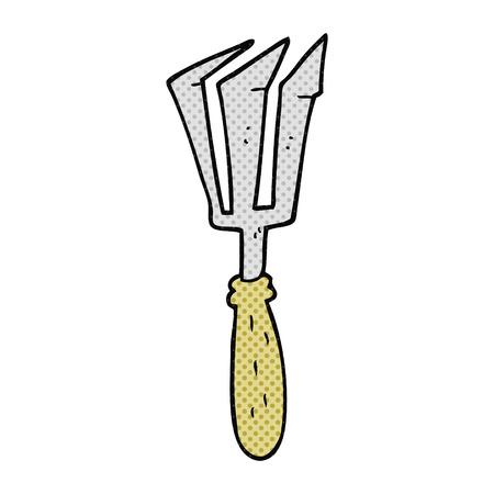 gardening tool: freehand drawn cartoon gardening tool