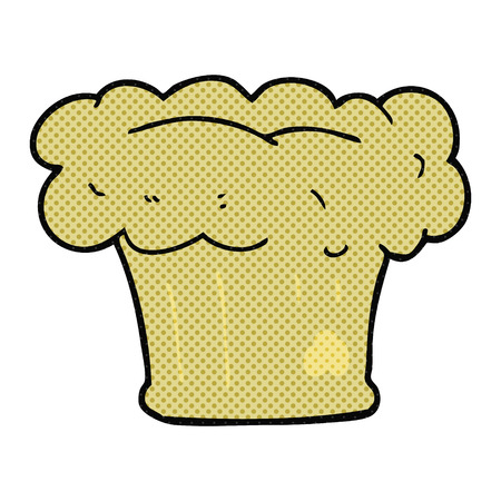 loaf: freehand drawn cartoon loaf of bread
