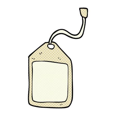 luggage tag: freehand drawn cartoon luggage tag