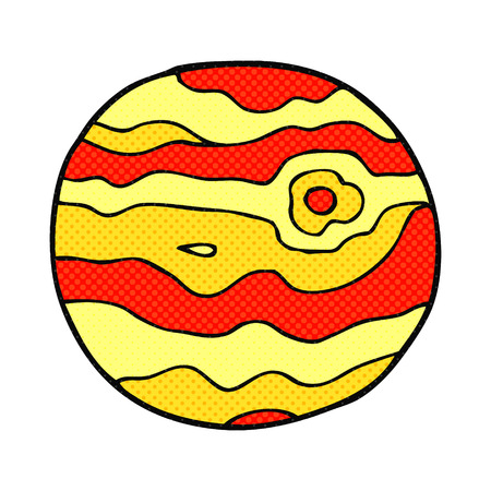 alien clipart: freehand drawn cartoon alien planet